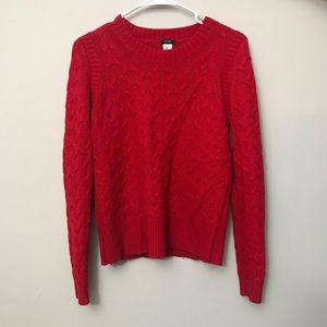 Jcrew Cable Knit Sweater